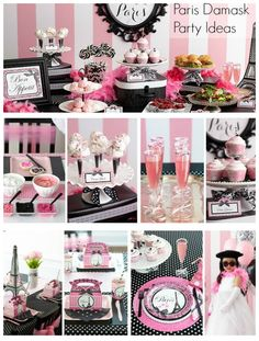 Looking for a few Paris themed Birthday party ideas? From food & drink to decor & supplies, we have some Paris-worthy ideas for your party.