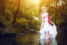 Sword Art Online Kirito ALfheim Online Yuki Asuna Cosplay