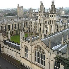all souls college Oxford- from The Discovery of Witches book too.