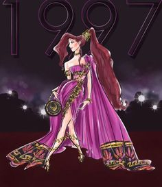 Disney Princess Fashion, Disney Princess Art, Disney Fan Art, Hercules Disney, Megara Disney, Disney Dream, Disney Style, Disney Love, Arte Disney