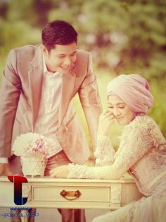 64 Foto PreWedding Muslim Outdoor Unik