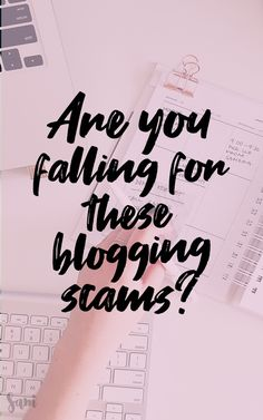 """Blogging scams aren't always easy to spot. Are you falling for any of the top blogging scams? From MLM schemes to other """"sources"""" of income, you need to protect your blogging business. Check out this list of the most well-known blogging scams to make sure you're not being fooled. #BlogginTips #BloggingHelp #NewBlogger #MLMScheme"""