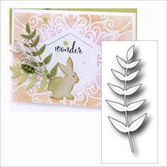 Pointed Leaf metal die Memory Box cutting dies 99362 Flowers,leaves,trees,branch #MemoryBox
