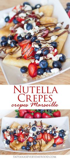 Sweet, delicate crepes filled with Nutella and topped with berries, goat cheese, almonds and maple syrup. These Nutella crepes are so easy to make and are perfect for a weekend breakfast! Top with even more of your favorite fresh fruit, such as banana, mango or raspberry! Make sure to watch my video recipe for step-by-step […]