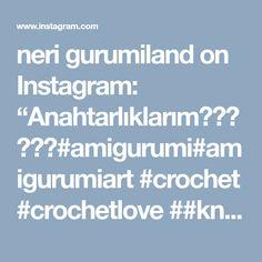 "neri gurumiland on Instagram: ""Anahtarlıklarım#amigurumi#amigurumiart #crochet #crochetlove ##knitting #knitaddict #handmade #keychain#ladybug #heart#anahtarlık…"" • Instagram"