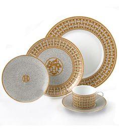 replica hermes dinnerware