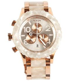 Nixon 42-20 Chrono Watch  (gotta be worth the price!!)