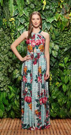 Só na Antix Store você encontra Vestido Longo Tapeçaria Holandesa com exclusividade na internet