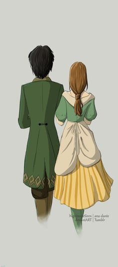 I'm going for Klaus in Story Of Seasons. I love this fanart. ( Harvestmoon) A Well-Matched Couple by NightmareSiren.
