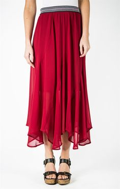 Twirl Skirt - Biking Red
