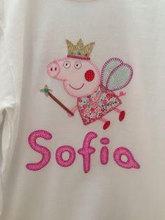 camiseta patchwork echa a mano  Els Girasols
