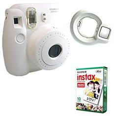 Fujifilm Instax Mini 8 Photo Camera + 10 Film + Close-up Lens Selfie Fuji White http://www.amazon.com/Fujifilm-Instax-Mini-Close-up-White/dp/B00YE23YIA/ref=sr_1_189?s=photo&ie=UTF8&qid=1438674795&sr=1-189&keywords=instax