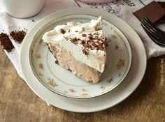 No-Bake Pie For Coffee Lovers - http://www.lovesimplecooking.com/no-bake-pie-for-coffee-lovers/