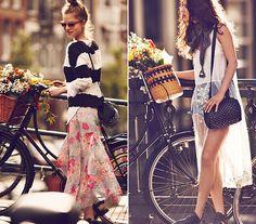 Ha te is ábrándos lelkű vagy, nem hiányozhatnak a tavaszi ruhatáradból az áttetsző, virágos muszlinszoknyák, illetve a leheletfinom, hófehér felsők és ruhák.