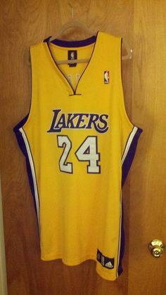 23505c90578f Adidas Los Angeles Lakers Authentic Home Jersey from  129.99