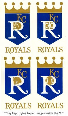 Rejected logos, but almost had it right.  They kept trying to put an image inside the R, but they wouldn't be easily visible as a small logo.
