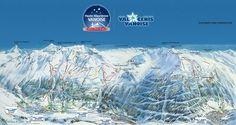 DOMAINE SKIABLE DE VAL CENIS VANOISE ouvert du 22 décembre 2012 au 21 avril 2013  (ouverture partielle du 13 au 21/04/13 sur les secteurs Lanslebourg et Lanslevillard)  1 500 m de dénivelé (1 300 m – 2 800 m) /  125 km de pistes balisées /   200 enneigeurs /   55 pistes dont 9 vertes, 18 bleues, 23 rouges, 5 noires / 27 km de ski de fond gratuit / 1 piste de luge de 900 m de long