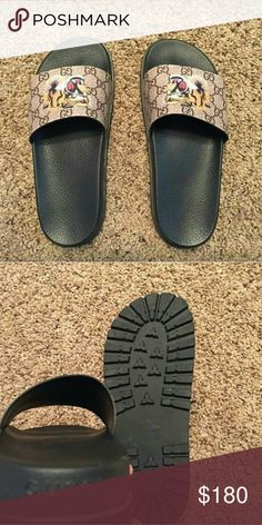 2d4374126 Gucci Slides Tiger 100% Authentic on sale Brand new all going out all  included Text