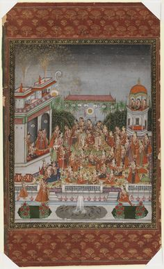 The Nuptials of Dara Shikoh Mughal Paintings, Indian Paintings, Dara Shikoh, Bohemian Rug, Miniature, Objects, Sketches, Textiles, Calligraphy