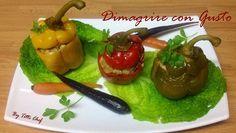 Peperoni ripieni di manzo macinato e cavolo verza