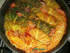 Hungarian Recipes, Japchae, Diet Recipes, Cabbage, Vegetables, Ethnic Recipes, Food, Essen, Cabbages