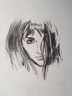 Sofia Sketch from Vanilla Sky