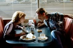Honey Bunny and Pumpkin (Amanda Plummer) and (Tim Roth) Pulp Fiction (1994) Written/Directed by Quentin Tarantino