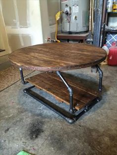 35 Best Diy Iron Pipe Coffee Table Ideas Images Industrial