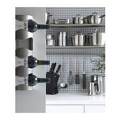 VURM Stojak na 4 butelki wina - IKEA