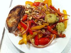 @The Amateur Gourmet using Rachael Ray's Garbage Bowl to make a Healthy Meal!