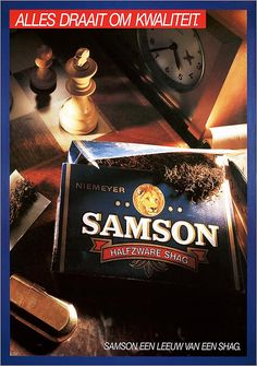 Alles draait om kwaliteit. Samson Een leeuw van een shag. Mijn vader rookte deze shag.