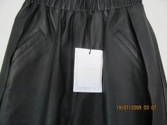 bnwt Sass & Bide Art of Structure leather shorts  sz 8 NEW rrp $650 in Clothing, Shoes, Accessories, Women's Clothing, Pants | eBay!