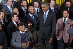 Because of Them, We Can by Eunique Jones President Obama also named baseball legend, Willie Mays, a 2015 recipient of the Presidential Medal of Freedom!