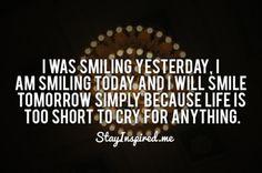 Smile!! :)
