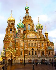 One of Russia's most iconic buildings. To be fair, the Church of Our Savior of Spilled Blood in St. Petersburg is well worth the visit.
