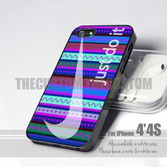 11157 Nike Just Do It Purple Aztec -