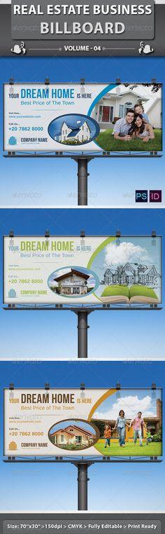 Real Estate - Billboard, Backdrop & Rollup Design | Print ...
