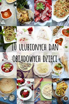 10 ulubionych dań obiadowych dzieci Baby Food Recipes, Snack Recipes, Cooking Recipes, Healthy Recipes, Toddler Meals, Kids Meals, Healthy Snacks For Kids, Health Diet, Food Inspiration