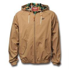 Una Harrington con capucha. Pena que en Madrid hay poco otoño/primavera para usarla.  AFC Hooded Harrington Jacket £50