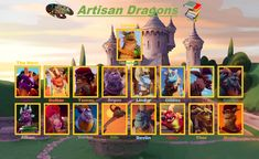 Spyro The Dragon, Thor, Dragons, Artisan, Baseball Cards, Fun, Painting, Painting Art, Craftsman