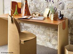 Meubles en carton on pinterest cardboard furniture - Meuble a chaussures en carton ...