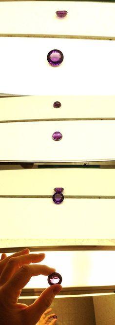 Amethyst 10192: Unmounted Gem Amethyst Loose Stone Dark Purple Round Portuguese Cut 44.10 Carats -> BUY IT NOW ONLY: $176.4 on eBay!