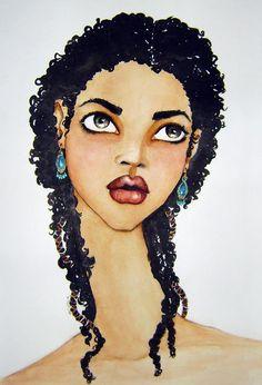 by caribbean artist Brianna McCarthy
