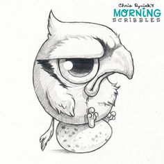 Bird Dad hates babysitting.  #morningscribbles