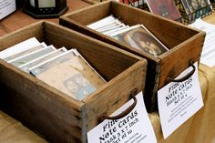 Vintage Style Art Fair Booth Display idea: use antique drawers to hold cards ~ Art of Carrie Martinez