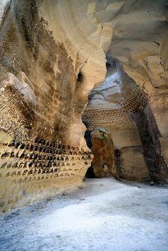 Luzit Caves Pigeon holes ISRAEL