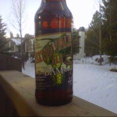 Extra Pale Ale, the Dam Brewing Company, Dillion Colorado