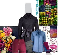 """Fruity Fall"" by shaneeeee ❤ liked on Polyvore"