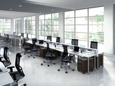 Co-Officing - Table - Mayline - e5 Benching