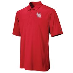 Dri Fit short sleeve polo with 3 button placket with mesh back for ventilation. 100% Polyester.